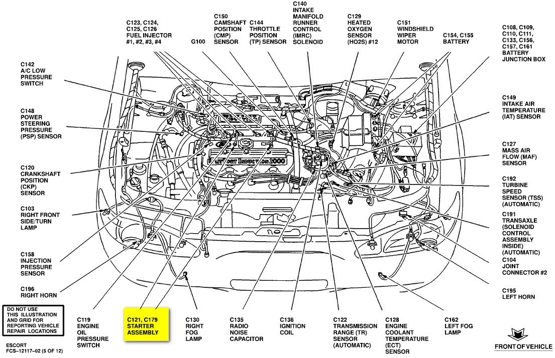 ford explorer starter location  ford  free engine image