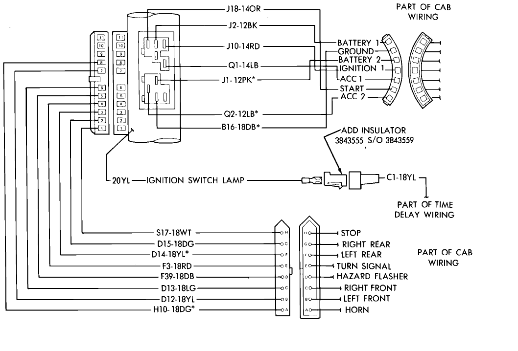 gm steering column wiring diagram