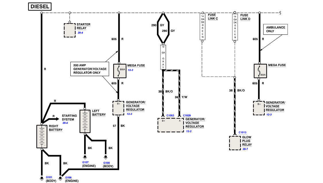 2005 international dt466e wiring diagrams