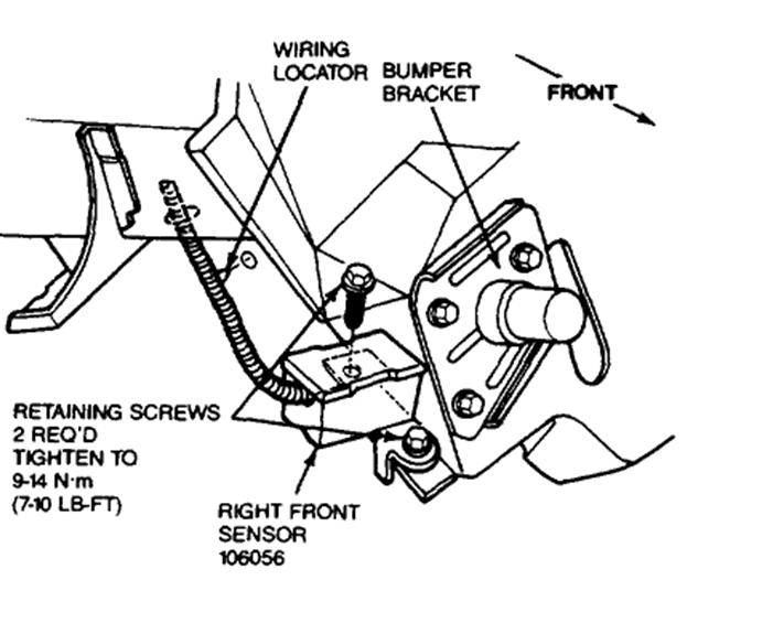 Ford Air Bag Deployment Sensor