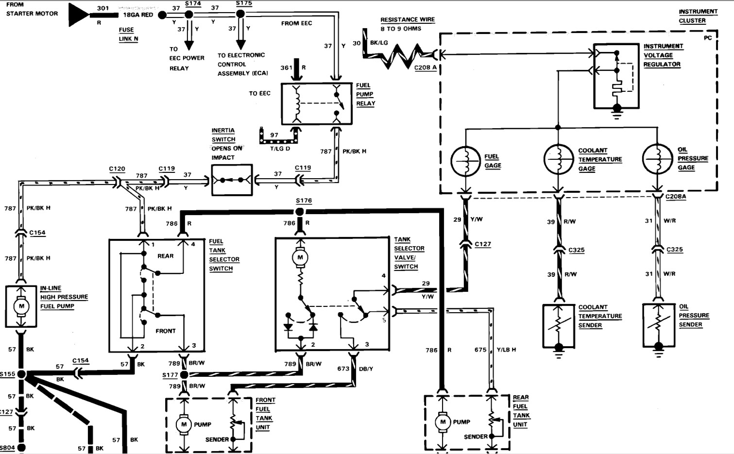 87 F150 Wiring Diagram Will Be A Thing Ford F 150 I Have An With Dual Tanks Was Hunting And