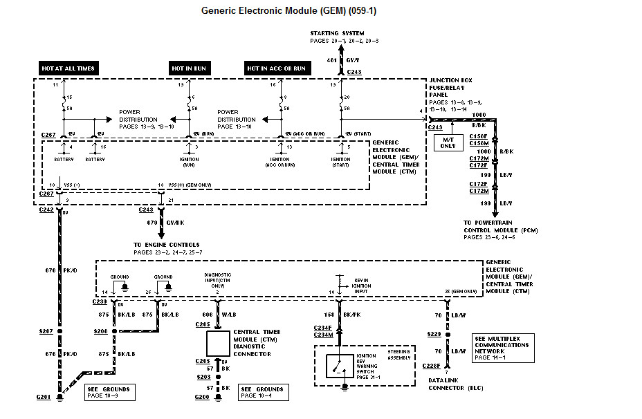 key off battery drain problem runs down truck won t here are the diagrams for that complete circuit