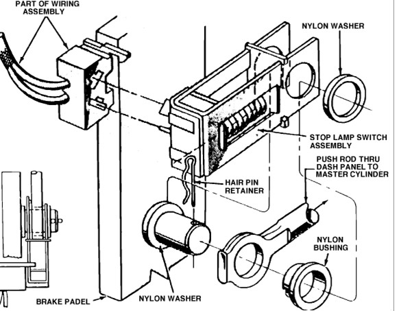 Ford Brake Switch Diagram : I have a ford f and im changing my brake switch