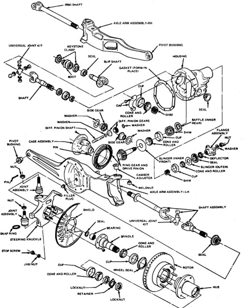 1996 Ford F 150 Front Coil Spring Diagram on ford fusion wiring diagrams