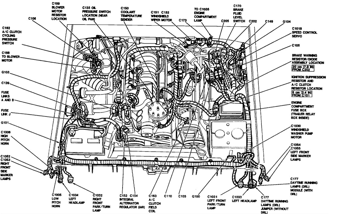 Ford F 150 1988 F150 Serpentine Belt on 1990 Dodge Dakota Fuse Box Diagram
