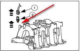 6480i 97 Ford E350 Triton V 8 Need Change Cylinder Head Temp Sensor