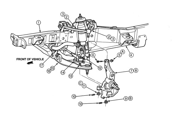 2002 Ford Explorer Front Suspension Diagram Pictures To Pin On Pinterest