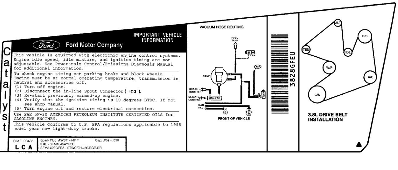ford freestar firing order diagram