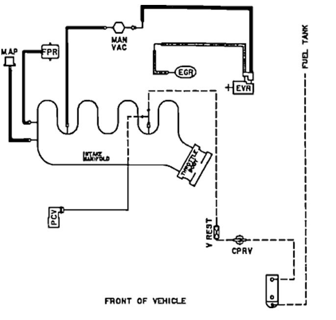I Need A Vacuum Diagram Under The Hood For A 1991 Ford Tempo 2 3