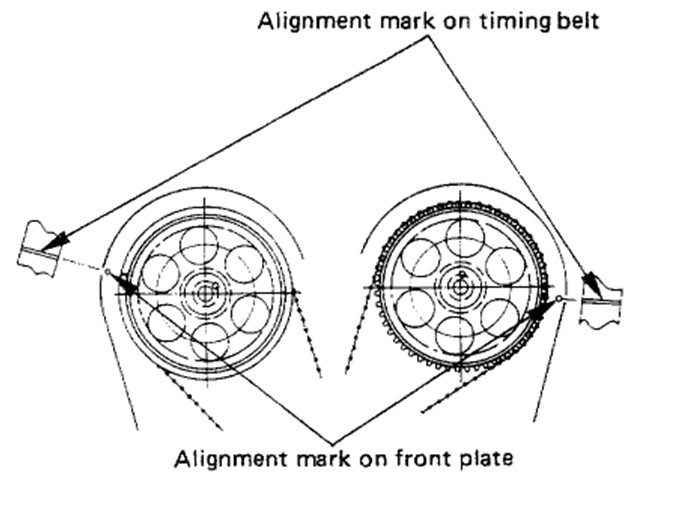 94 isuzu rodeo timing belt diagram
