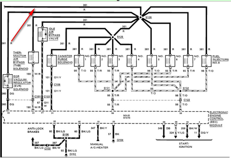 ford 460 fuel injection diagram  ford  free engine image