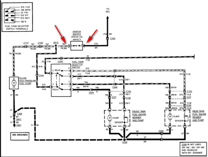 Ford F700 Hydraulic Brake System Diagram : Ford f wiring diagram get free image about