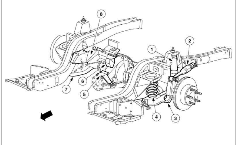 pontiac bonneville rear suspension