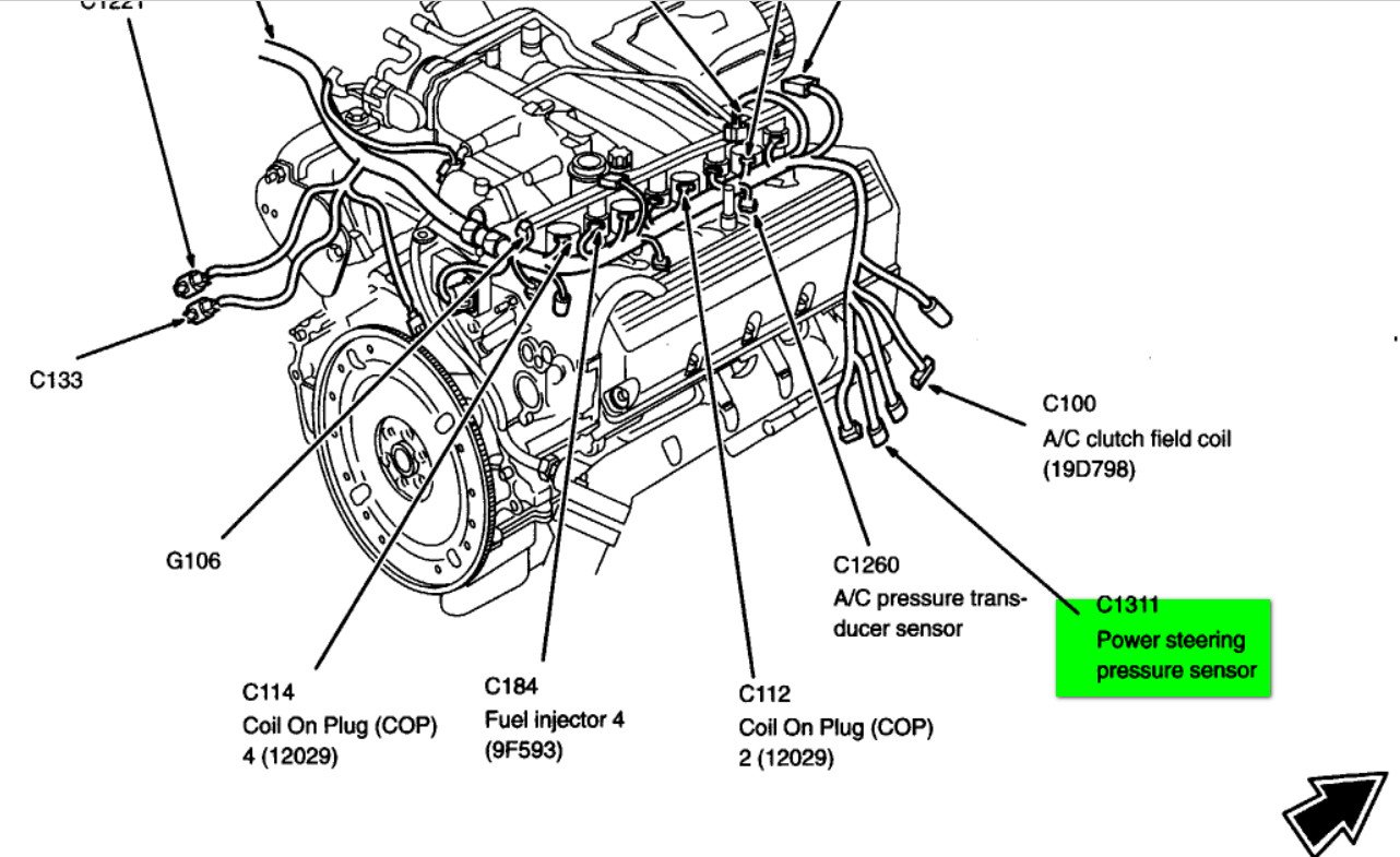 2006 chevy impala power steering line diagram  2006  free