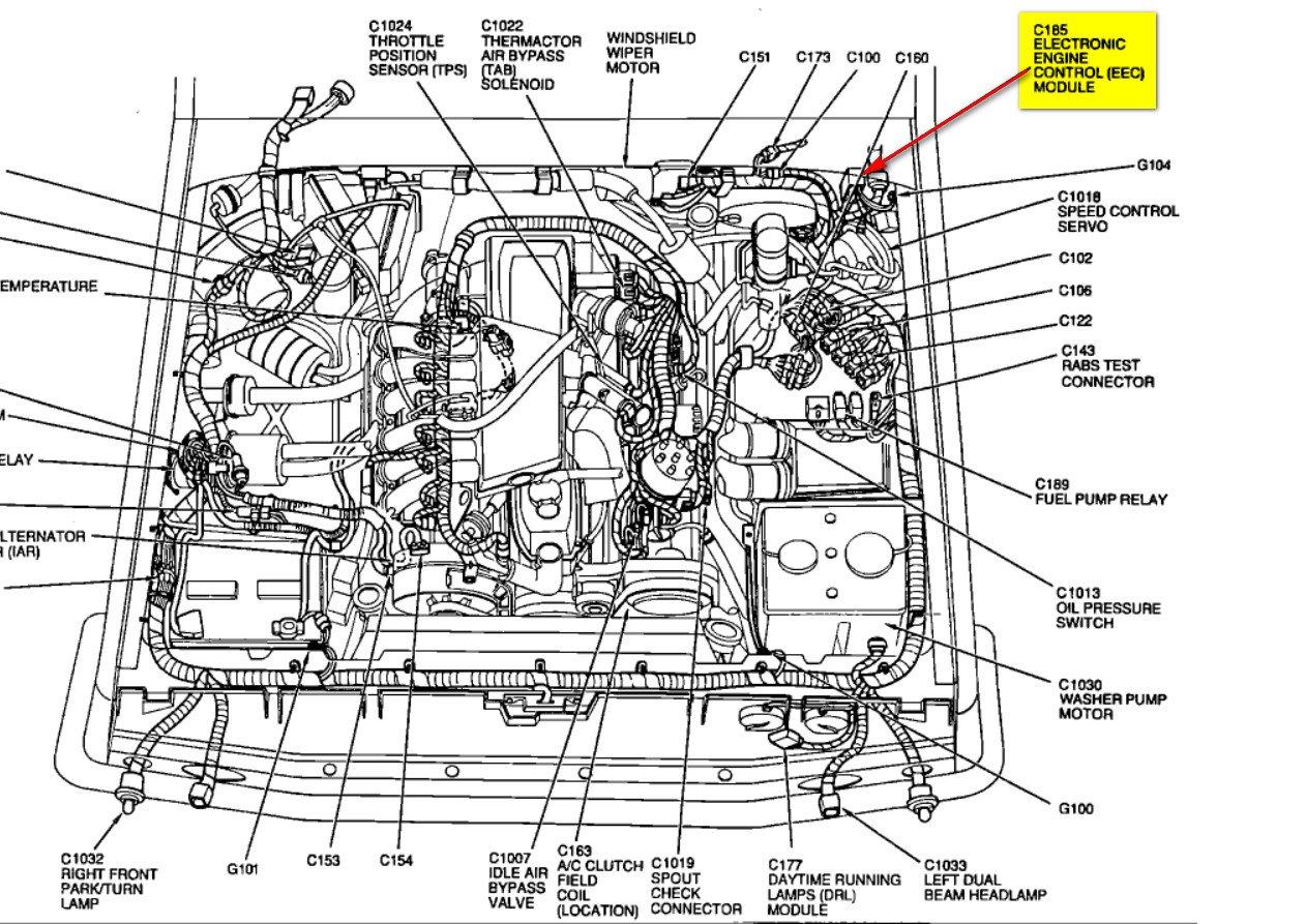 92 Ford F150 Engine Diagram Wiring
