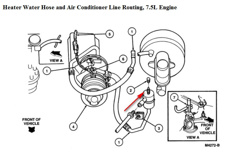 ford aerostar thermostat diagram