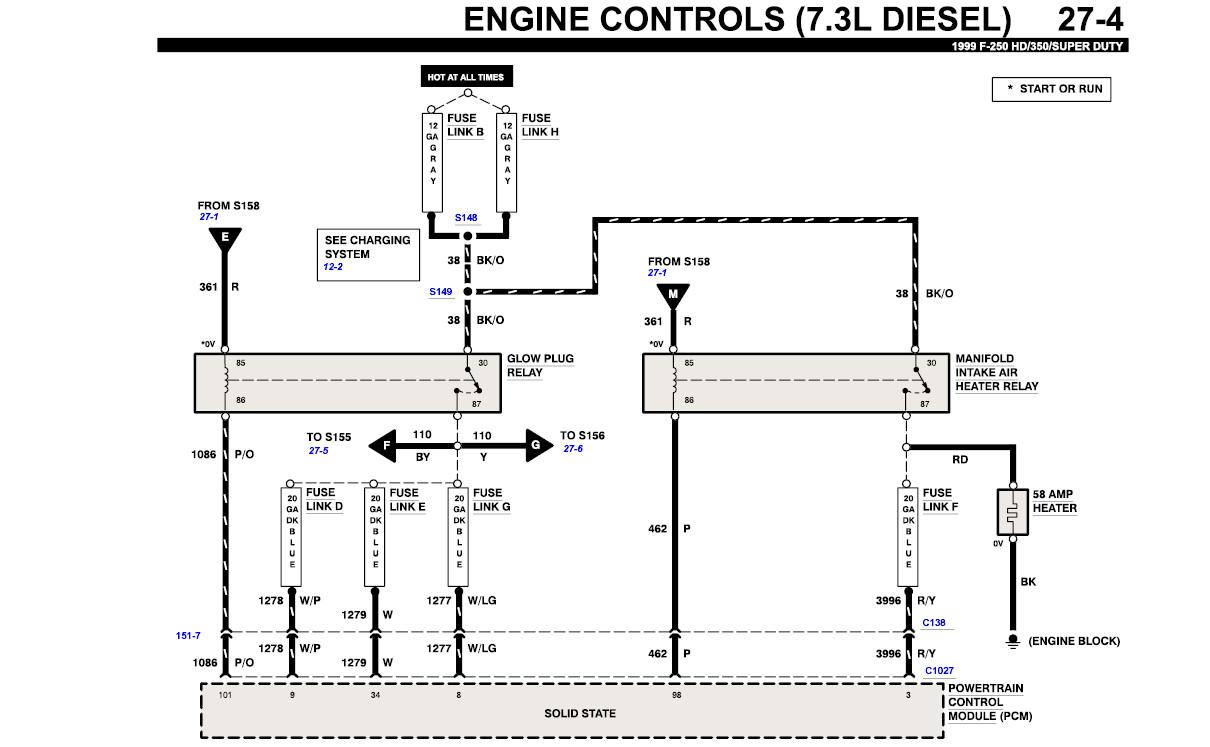 Breathtaking 1999 Ford 7 3 Glow Plug Relay Wiring Diagram Ideas ...