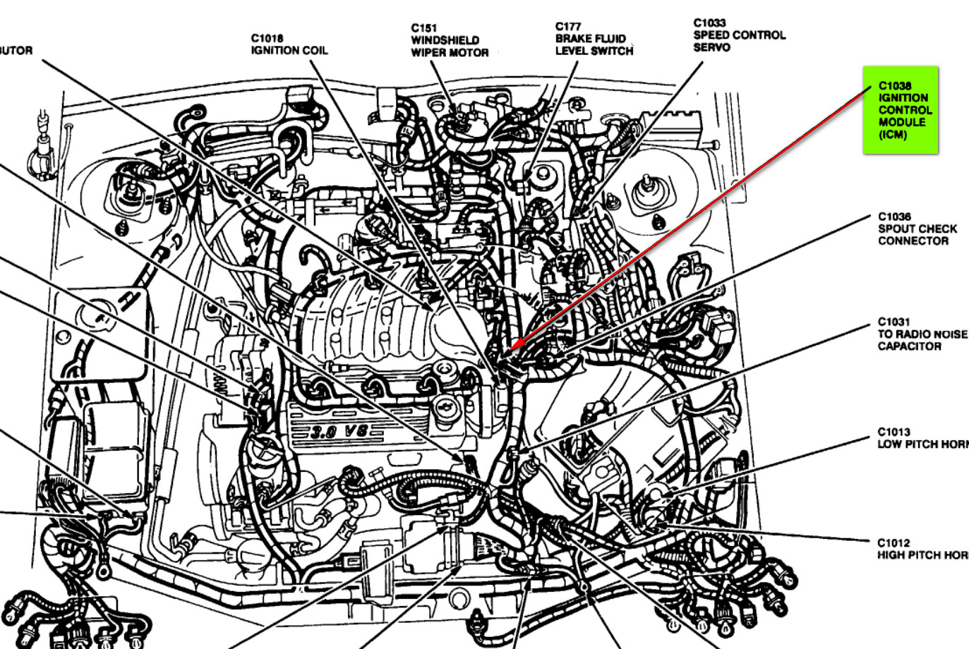 ford taurus fuse box wiring diagrams