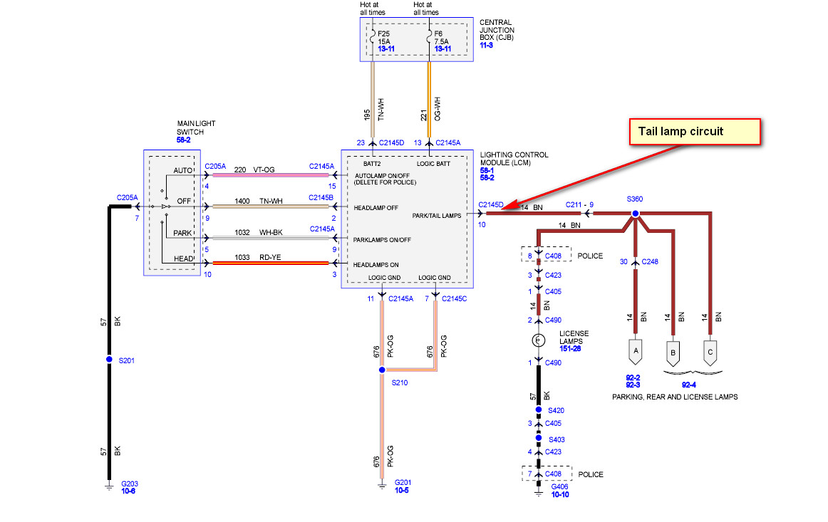 Tail Lights Wiring Diagram : Sequential tail light wiring diagram led