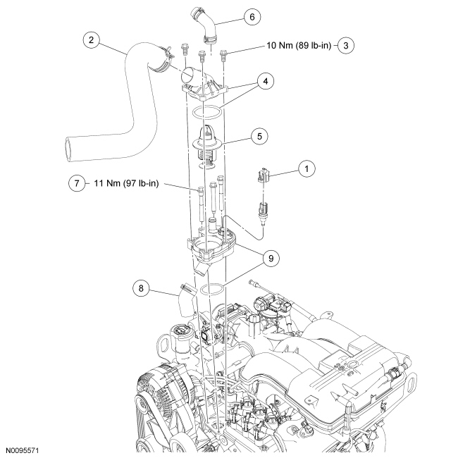 2001 diagram if ford windstar engine  2001  free engine