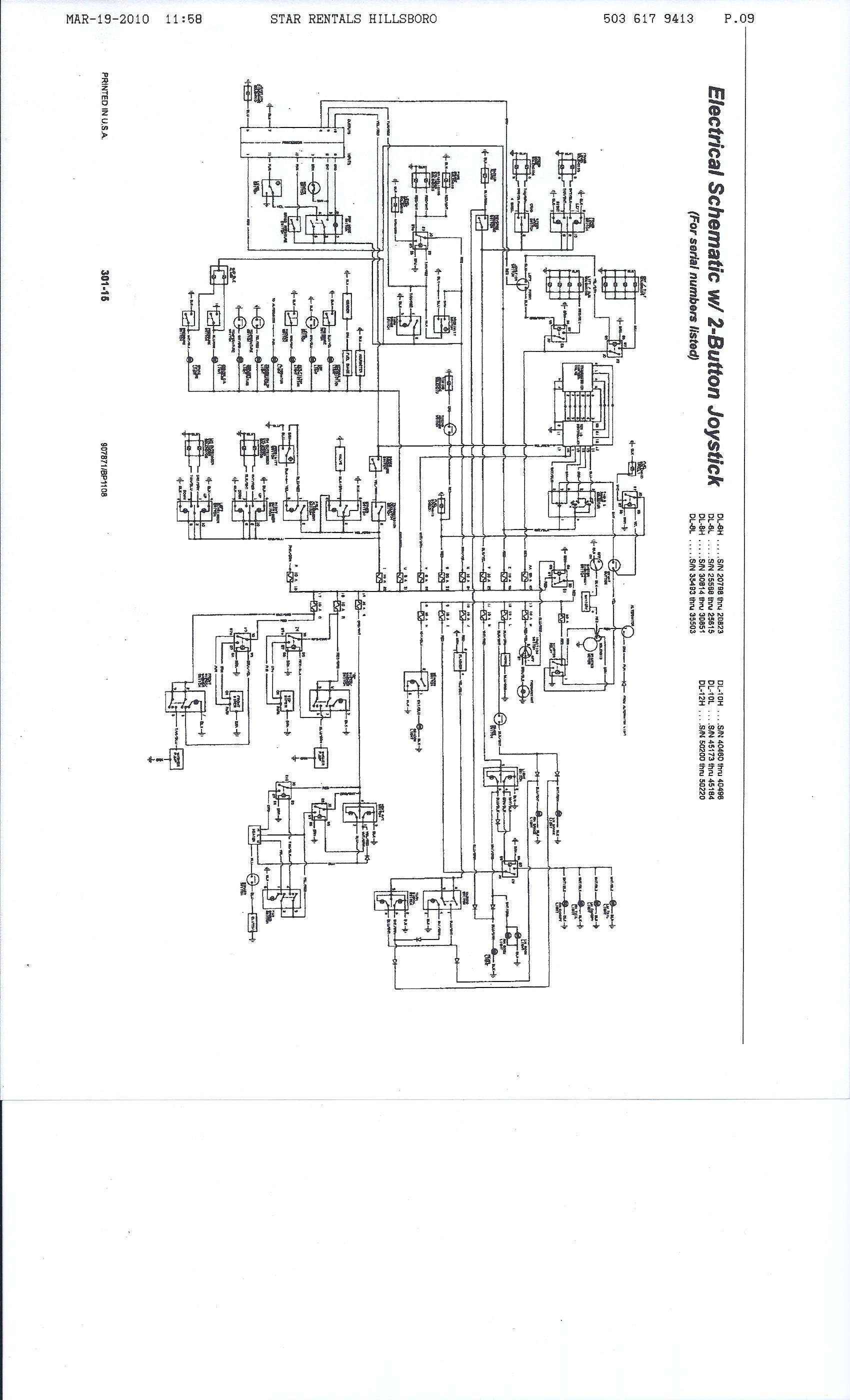 dl possible for you to e mail or fax an electrical schematic here is your schematics let me know if you need more help