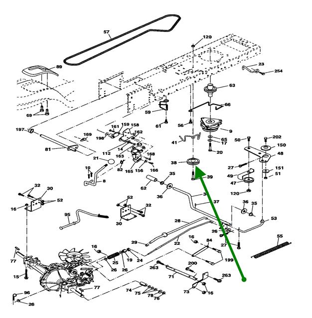 Craftsman 42 Deck Belt Diagram : Craftsman mower deck diagram get free image about