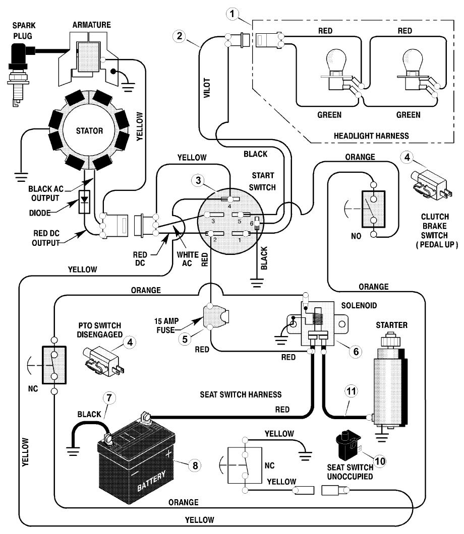 Doosan Ignition Switch Wiring Diagram