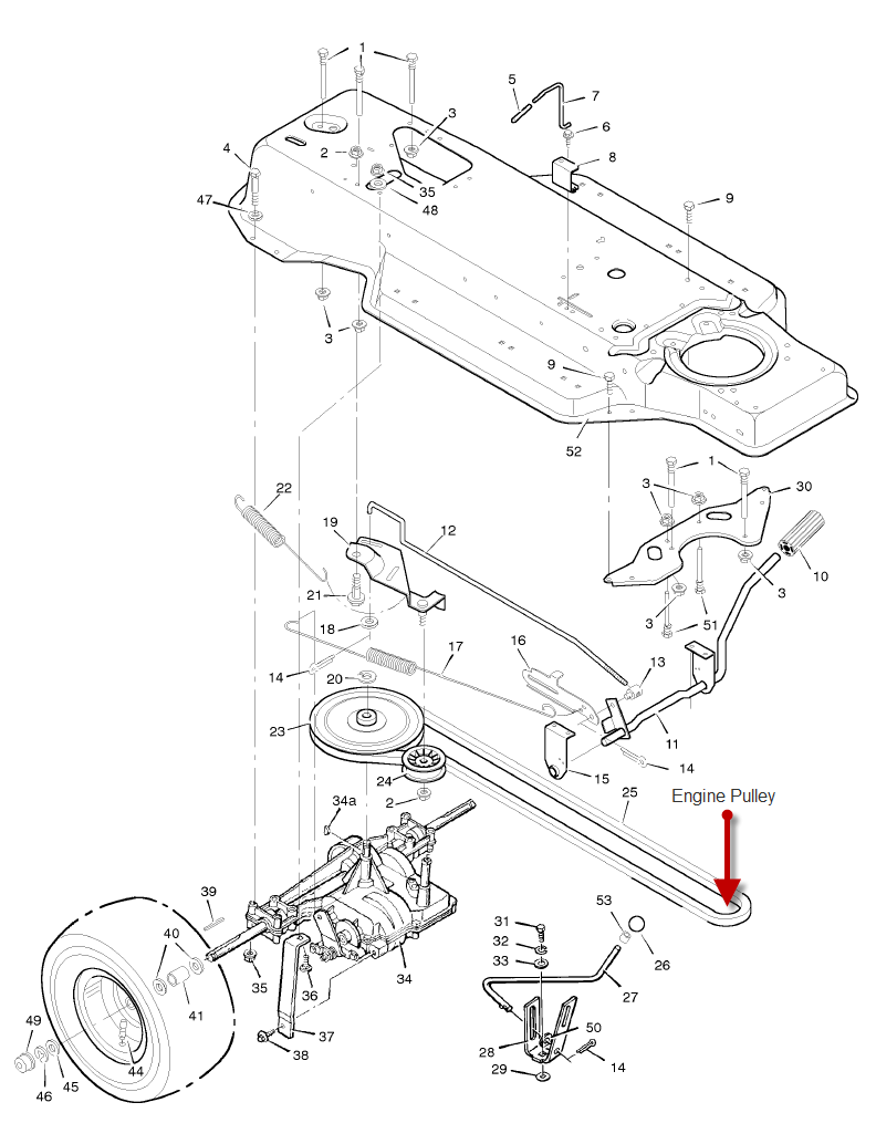 belt diagram for 07 mazda 6