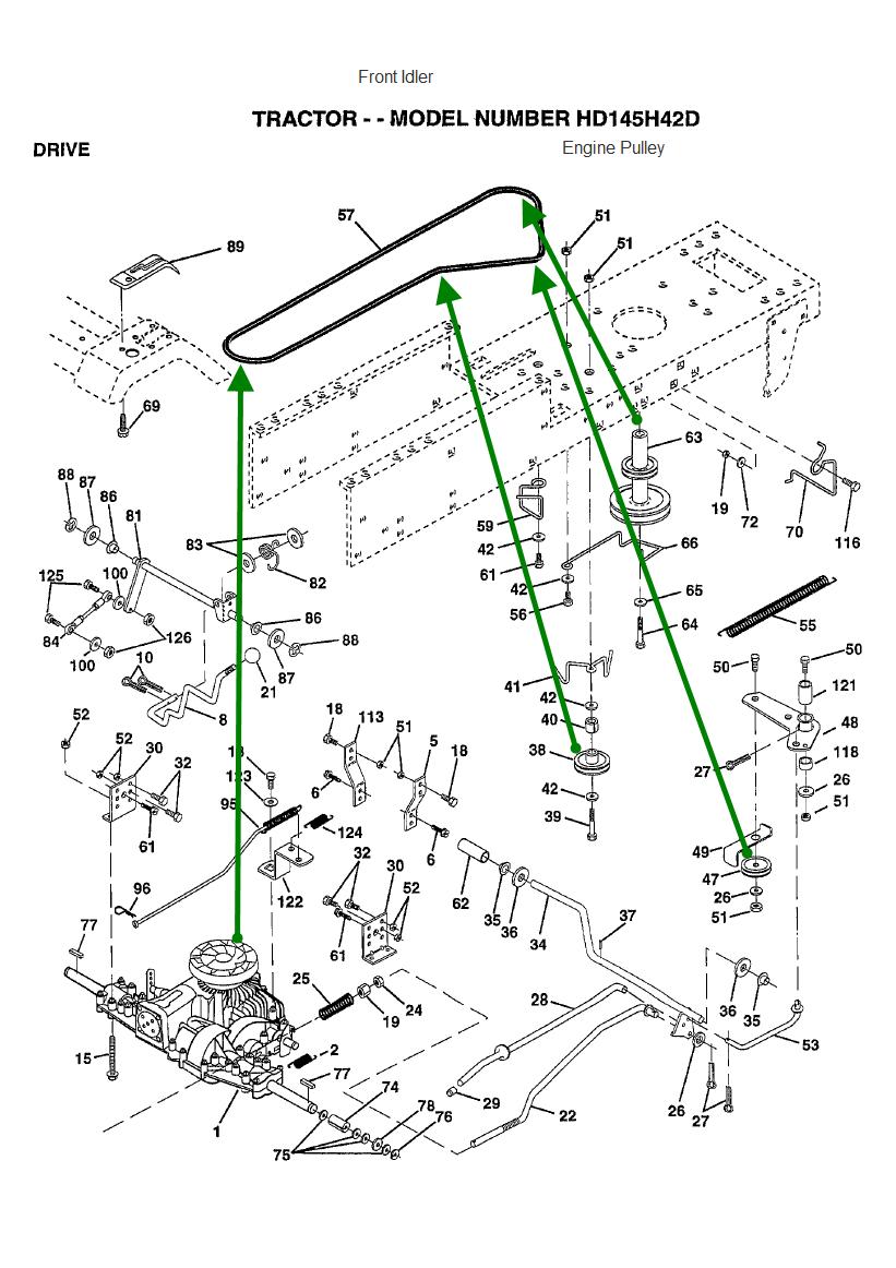 poulan pro riding lawn mower parts manual