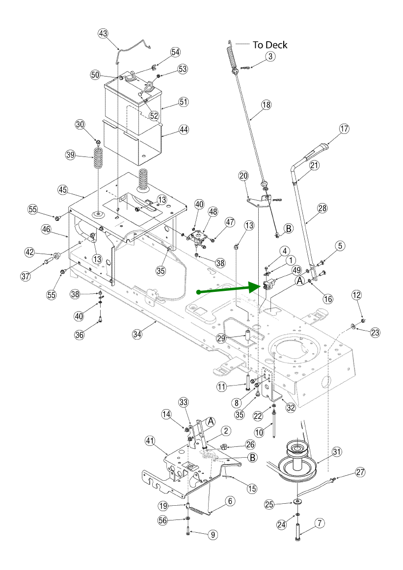 troy bilt horse tiller wiring diagram within diagram
