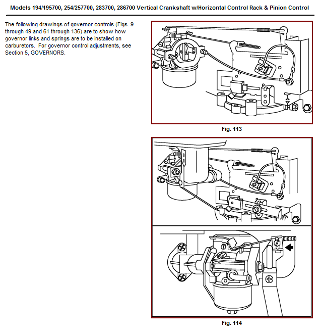 10 hp briggs carburetor diagram wiring schematic
