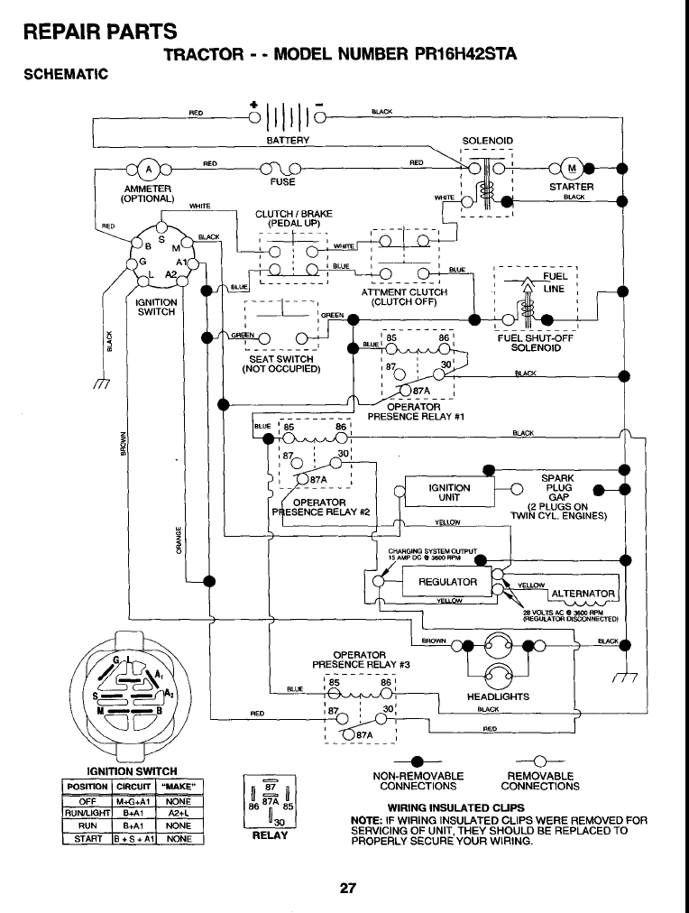 Free Kohler Engine Wiring Diagram