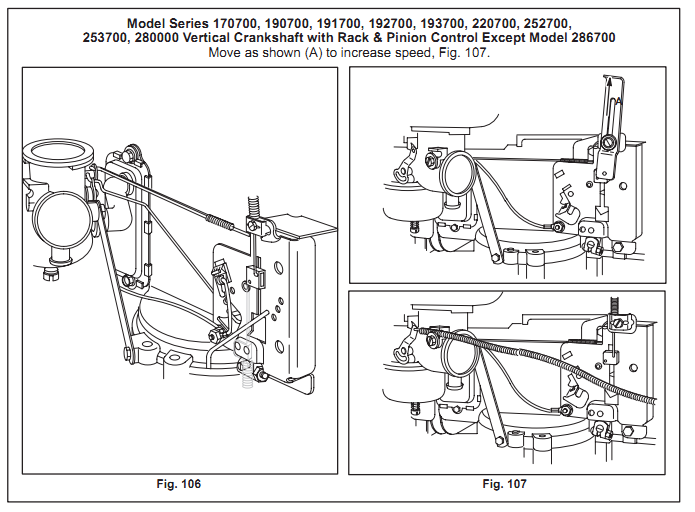 Linkage Assembly For 12 5 Hp Briggs And Stratton