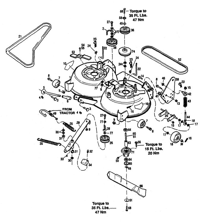bolens riding lawn mower diagram  bolens  free engine