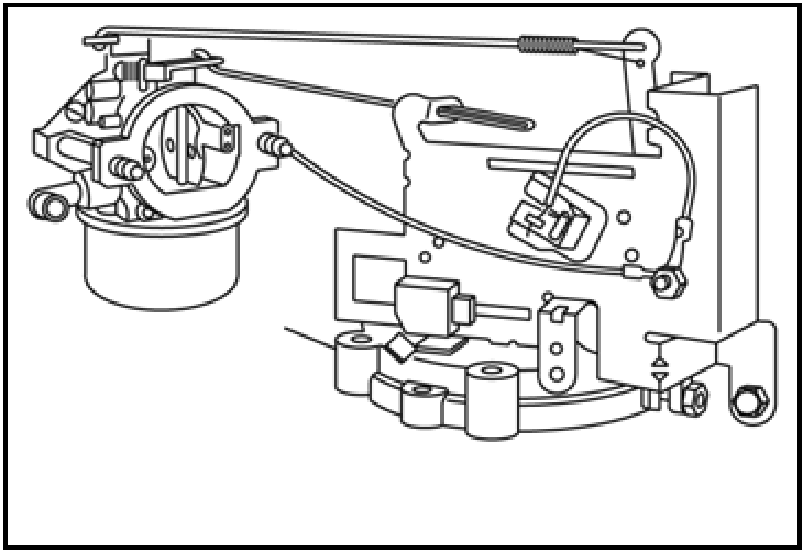 Centurion Generator Parts Diagram also 16 Horsepower Briggs Throttle Linkage Diagram likewise Lawn Mower Carburetor Diagram furthermore Craftsman Lawn Tractor Briggs Stratton 18 5 Hp Ohv Inteck Engine 389659 as well Kohler Courage 19 Hp Engine Diagram. on 17 5 hp briggs problems