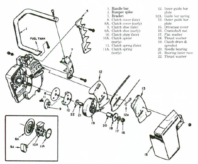 12314598958235872 additionally Sears Craftsman Husqvarna 197258 197259 Belt Keeper Guides p 34110 together with Homelite Textron Chainsaw Parts Diagram further Poulan Pro 260 Fuel Line Diagram Wiring Diagrams besides Piston Ring Part 530038729 For Poulan Chainsaw 42cc. on husqvarna weed eater