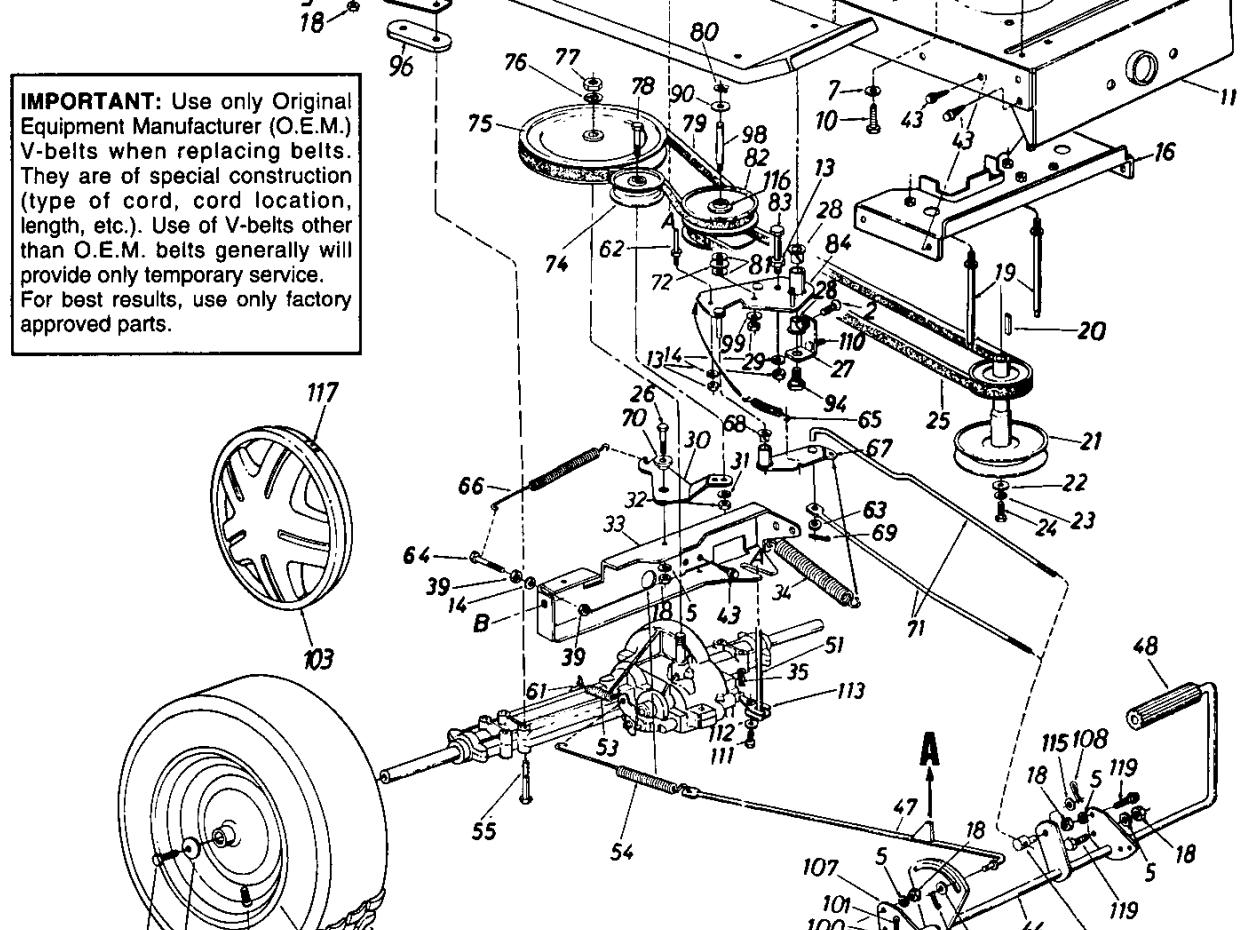 cub cadet 1450 wiring diagram
