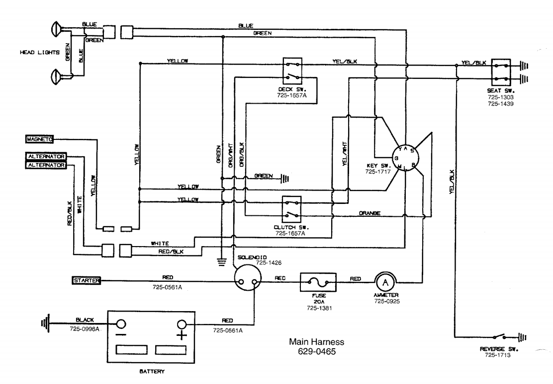 mtd yardman wiring diagram wiring library 20 HP Craftsman Riding Mower Electrical Diagram yard machine riding mower wiring diagram detailed wiring diagrams riding mower wiring schematic yard man riding