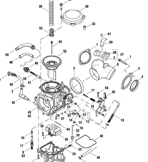 arctic cat carburetor cvk diagram  arctic  free engine
