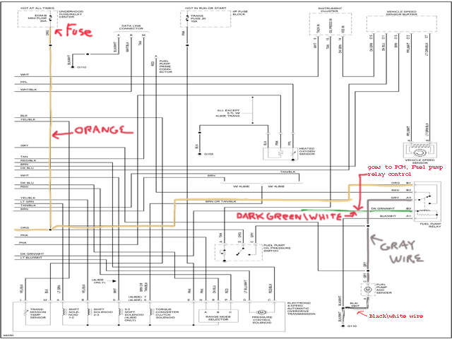 K1500 Ignition Switch Wiring Diagram