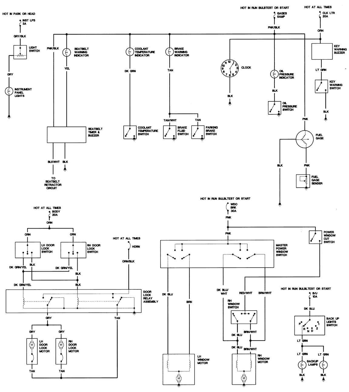 1998 cadillac deville radio wiring diagram cadillac eldorado blows fuses 2000 cadillac deville radio wiring diagram #4