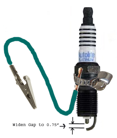 Test Plug on Chevy 4 3 Plug Gap