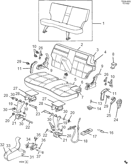 where can i buy rear seat cable for 91 chevy s10 blazer