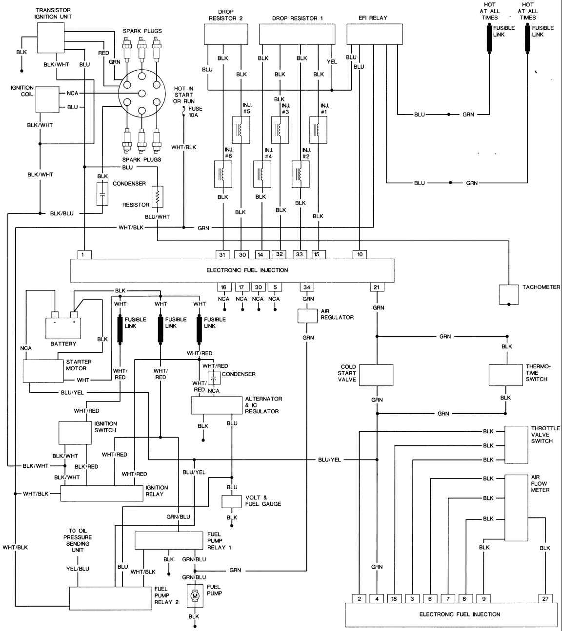 1978 datsun wiring diagram 1973 datsun wiring diagram