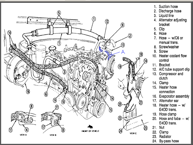 89 ford f 150 pcm location  89  free engine image for user