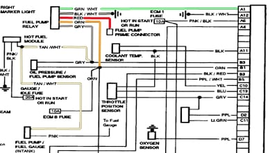1986 gmc truck wiring diagram 1986 automotive wiring diagrams 1986 gmc purple wire fuel pump runs pouring gas in throttle