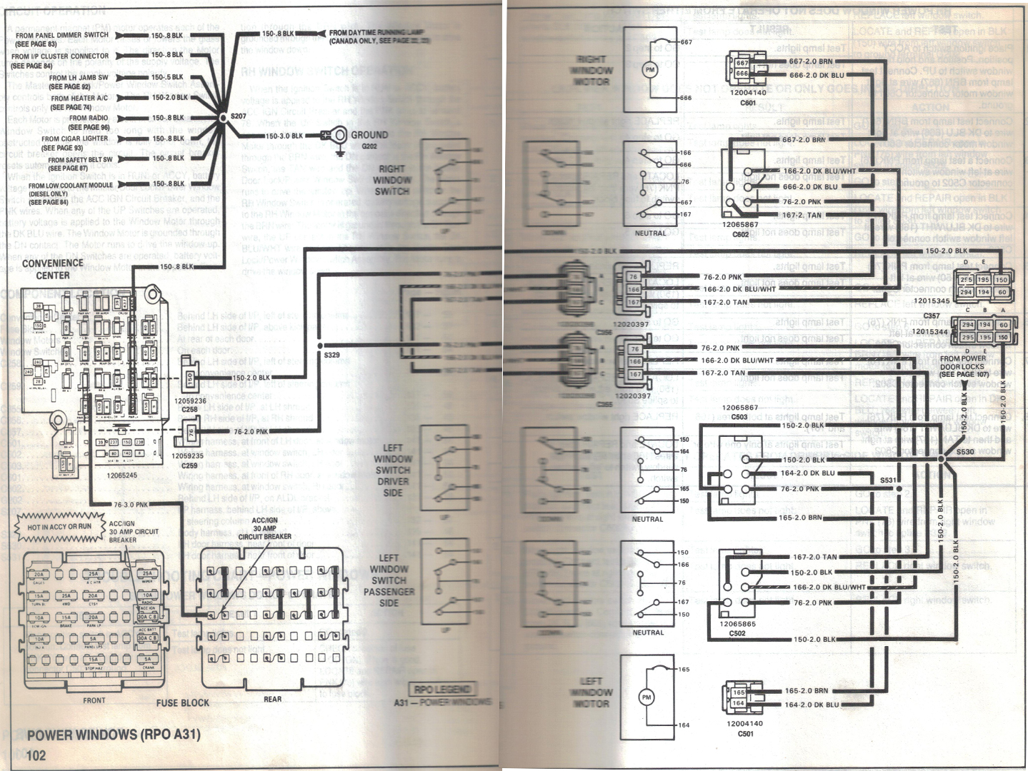 S10 Radio Wiring Diagram 1989 Chevy Fuse Box Library 1997 S 10 1995 Pickup Solutions 95