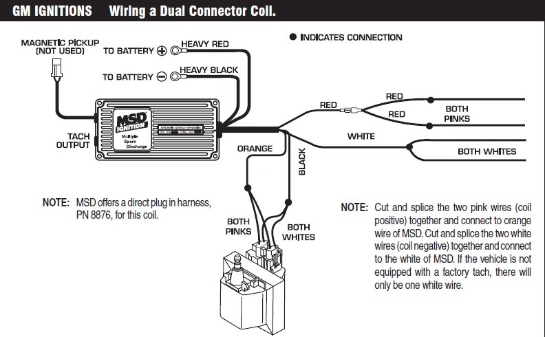 wiring diagram for msd 6a the wiring diagram 93 chevy 4 3 before did run until crank came engine all