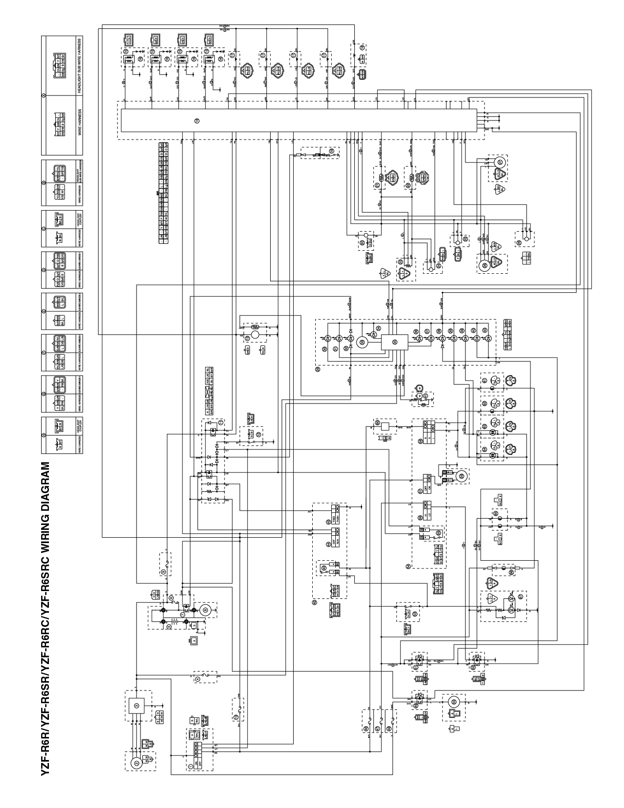 R6 Wiring Diagram Another Blog About Wiring Diagram \u2022 2003 Yamaha R6  Wiring-Diagram 2001 Yamaha R6 Wiring Diagram