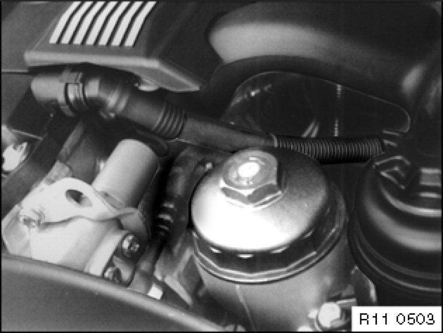 2004 Bmw 530i Fuel Filter Location
